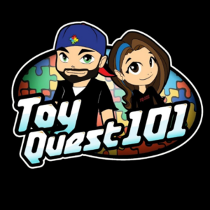 Toy quest cartoon icon